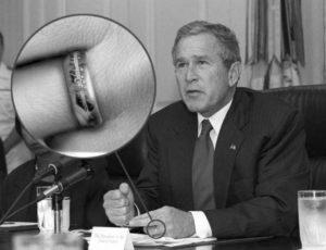 جورج بوش سائورون ارباب حلقهها تالکین فرودو شکست خورد یازده سپتامبر تروریسم اسامه بن لادن