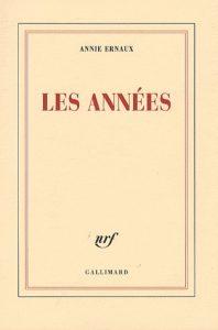 آنی اِرنو، ترجمهی آلیسون ل. استرِیر، سالها (۲۰۱۷) Les années by Annie Ernaux