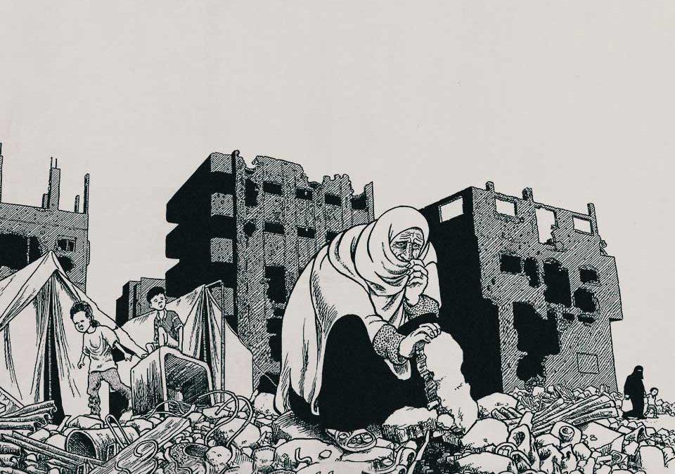 به روایت ادوارد سعید: جو ساکو، تصویرگر زندگی در فلسطین